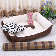 Luxury extra large soft wool pet mat pet cat and dog bed basket nest mat 6 sizes