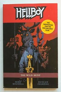Hellboy The Wild Hunt Mignola Fegredo Dark Horse Graphic Novel Comic Book