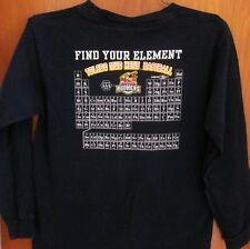 TOLEDO MUD HENS youth med T shirt Ohio baseball Periodic Table of Elements tee