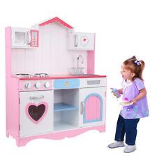 Cucina Giocattolo Grande per Bambini con Accessori in Legno 82 * 29 * 100cm