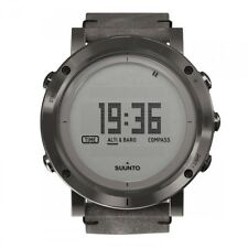 NEW SUUNTO ESSENTIAL STEEL ALTIMETER BAROMET OUTDOOR WATCH - SS021216000 RRP£585