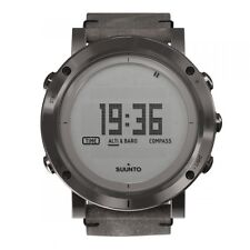 Nuevo SUUNTO esencial altímetro Baromet al aire libre de Acero Reloj-SS021216000 PVP £ 585