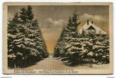 CPA-Carte postale-BELGIQUE-Camp d'Elsenborn - Le Camp en Hiver - 1923 (CP2751)