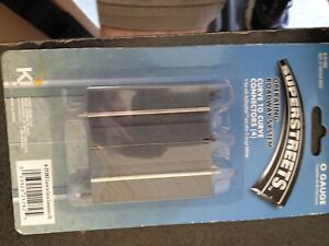 """SuperStreets 2.5"""" Straight - Curve to curve Connector 4 new on the card"""