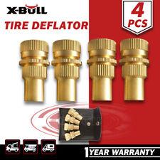X-BULL Tyre Deflators Brass Air Deflator 0-60 PSI Tire Valve Core Tool Automatic