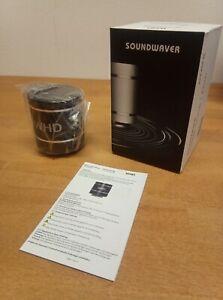 Soundwaver Bluetooth WHD Lautsprecher, Originalverpackt, Schwarz