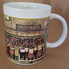 2005 norman rockwell Crestwood commuters mug Saturday Evening Post Sherwood