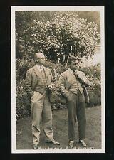 Literature Hugh WALPOLE JB PRIESTLEY Aug 1932 RP PPC