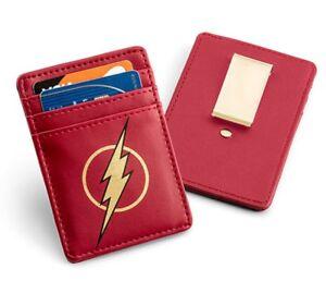 KLJP-DC-FL: The Flash Justice League Card Wallet with Money Clip