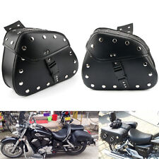 Motorcycle Saddle Bag For Harley Sportster XL 1200 Custom Low Nightster Roadster