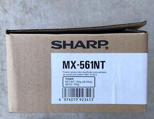 Genuine MX-560NT, MX-561NT, Sharp, Black Toner, MX560NT, MX561NT NIB