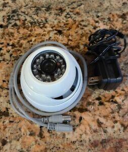 Videosecu VD21W 480TVL SD NTSC Security Camera with POWER SUPPLY cctv
