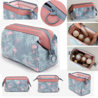 Cosmetic Make up Bag Toiletry Wash Travel Organizer Purse Storage Makeup Case US