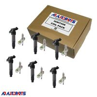 6 Ignition Coils + 6 4704 Spark Plugs For Land Rover LR2 Volvo XC60 3.0L 3.2L