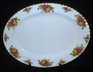 Royal Albert OLD COUNTRY ROSES Large Oval Serving Platter
