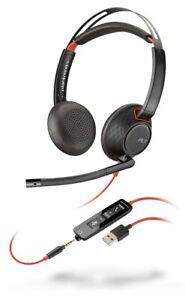 Plantronics Poly Blackwire C5220 USB-A und 3,5mm Klinke, Stereo 207576-201 NEU