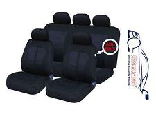 9 PCE Kensington Woven Design Full Set of Car Seat Covers Honda Civic Accord Jaz