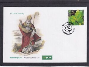 Ireland 2007 St Patrick's Day clover First Day Cover FDC