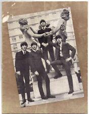 Original Beatles Memorabilia Concert Memorabilia