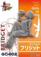 ZLPLA Genuine 1/24 Resin Figure Bridget Girls in Action Assembly Model GC-002