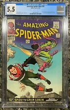 Amazing Spider-Man #39 CGC 5.5 White Pages! (1966) Marvel  - Green Goblin