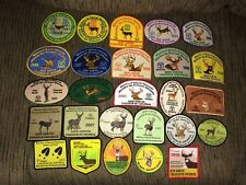 Ontario MNR Successful Deer Hunter Patches Crest Badge 1991-2016 26 Pcs Complete