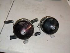 2 Vintage Zebco 600 All Metal Casting Reel - Made In Usa!