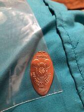Disneyland My Lucky Penny Mickey ears, horseshoe, 4 leaf clover pressed penny