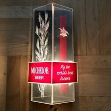 """Michelob Beer """"By The World's Best Brewer"""" Lighted Sign Breweriana Advertising"""