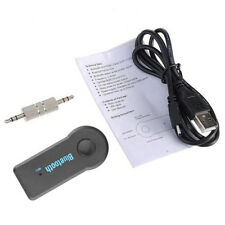 Car Bluetooth Receiver AUX Audio Stereo Music Speaker Wireless 3.5mm Adapter Mic