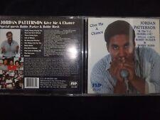 CD JORDAN PATTERSON / GIVE ME A CHANCE /