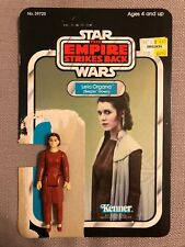 Vintage 80'S Kenner Star Wars Leia Organa (Bespin Gown) with CardBack