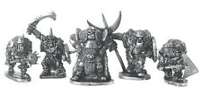 Giant Orc Command x5 28mm Unpainted Metal Wargames Warhammer