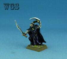25mm Warhammer Fantasy WGS painted Dark Elf Assassin -1 DK063