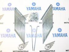 """YAMAHA XS 650 Type 447 OEM Rear Wheel Spoke Set 18"""" drum brake hub"""