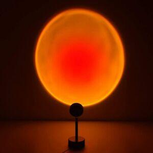 Sunset Projection Lamp Rainbow 5W USB Led Decor Atmosphere Light USA