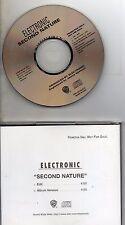 ELECTRONICSecond Nature Promo 2-track jewel caseMAXI CDPRO-CD-8529-R1996USA