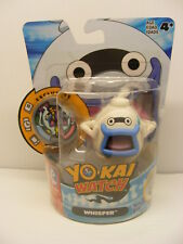 Yo-kai Watch 2in. WHISPER and MEDAL white ghost toy action figure,hasbro  2015