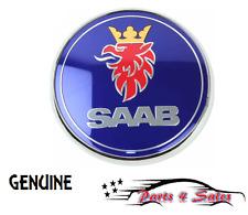 NEW Saab 9-3 9-5 01-09 2001-2009 GENUINE Hood Emblem 935 46011 / 12 844 161 NEW