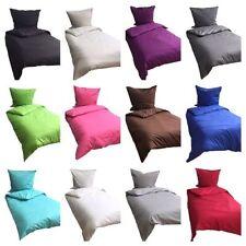 Klassische 3-teilige Musterlose Bettwäschegarnituren