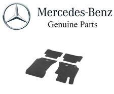NEW Mercedes-Benz W211 E Class Carpeted Floor Mat Set Black Genuine B66294131