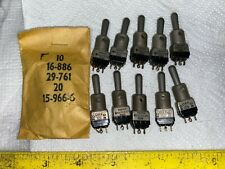 1 Mil Spec Ms90310-271 Cutler-Hammer Toggle Switches On-Off-On Momentary