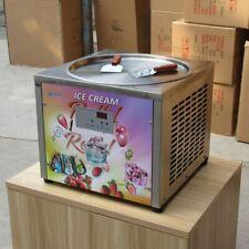 Countertop 45cm 18'' round pan fried ice cream machine rolled ice cream machine