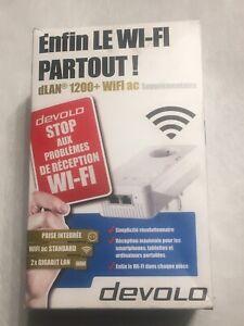repeteur wifi cpl devolo Dlan 1200+ wifi Ac