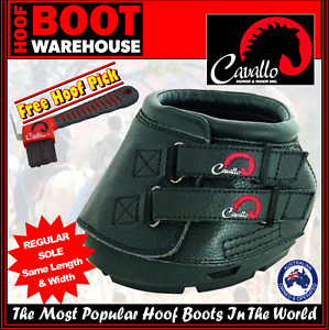 Cavallo 'SIMPLE' Hoof Boots (Pair)  -  Horse. Equine. Protection. REGULAR SOLE!