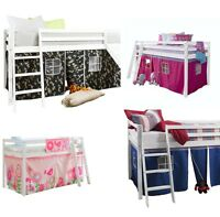 Tent for Cabin Bed , Midsleeper Kids bed Playtent Add to Bunk Bed
