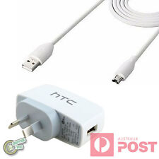 Original Genuine HTC ONE X+ XL XC X9 V VX SV ST SC S9 AC WALL CHARGER+CABLE