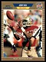 1989 ProSet GOLD #383 Jerry Rice RARE ODD San Francisco 49ers Super Bowl XXIV