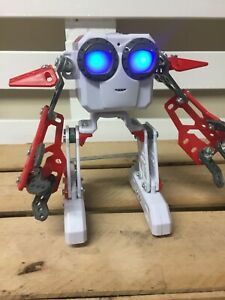 Meccano 2016 Spinmaster Robot Micronoid Red Socket Child's Toy