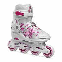 Roces Kids Girls Jokey 3.0 Inline Skates Junior Strap Buckle Comfortable Fit